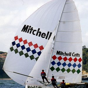 Mitchell Cotts, skippered by Woody Winning for long term sponsor Patrick Corrigan in the early 1980s