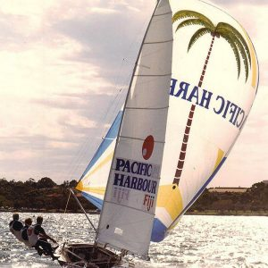 Pacific Harbour Fiji in action at the Aiustralian Championship on the Swan River, Perth