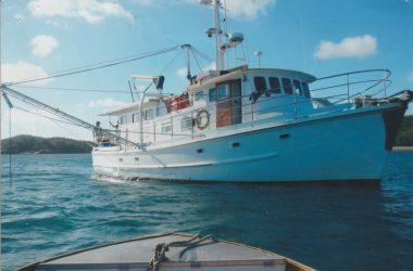 56ft Wooden Charter Vessel