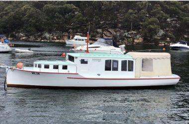 "Historic 30FT Huon Pine ""Sunday"" Boat"