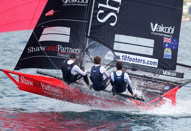 18ft Skiffs: Spring Championship, Race 1