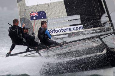 18ft Skiffs Club Championship, Race 1
