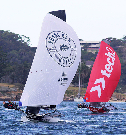 The Oak Double Bay-4 Pines leads tech2 home in Race 1 of the Spring Championship
