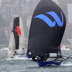 Winning Group led around the first windward mark