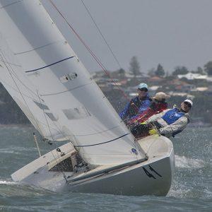 2020 Etchells Martin Sinclair's, The Saint, during Race Four_1199