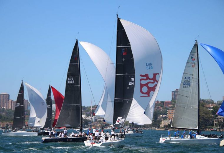 Bluetack wins Farr 40 One Design Trophy