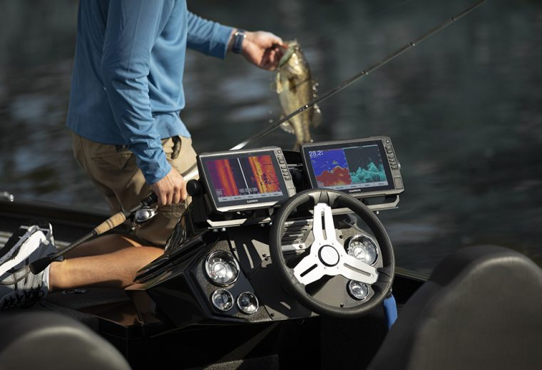 Spend less time finding and more time fishing with Garmin's new GT56/36 Transducers