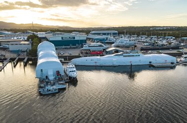 Australian shipyard awarded for simultaneous delivery of two innovative superyacht refit & refinishing projects