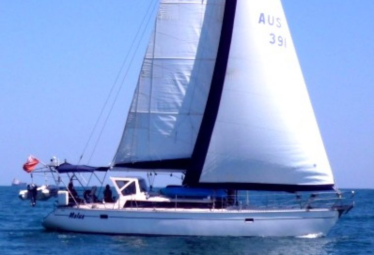 Adams Bluewater Cruising Yacht