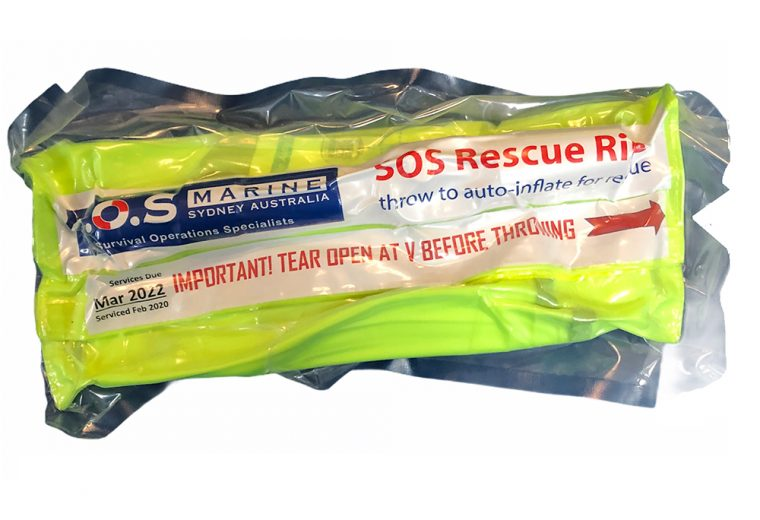 Introducing the new SOS RESCUE RING