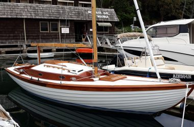 Folkboat Launching