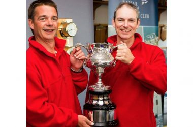 Barney Walker and Jade Cole's bid to win the Rudder Cup