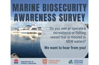 Marine pest biosecurity survey