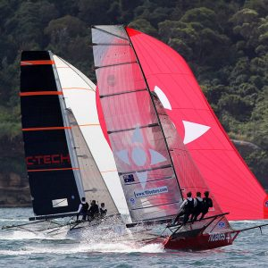 Noakesailing and NZ's C-Tech at the 2017 JJ Giltinan Championship