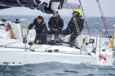 Cole and Walker win Rudder Cup for yacht race from Melbourne to Devonport