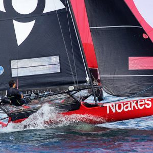 Talented Noakesailing team, led by Sean Langman