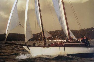 Gaff-rigged Schooner 26ft Pittwater
