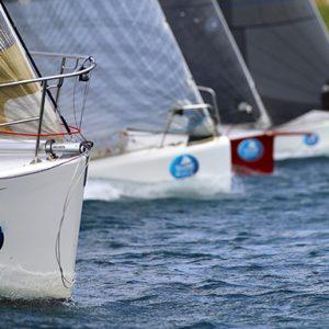 Sail Port Stephens mixed fleet