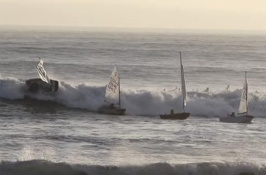 Santa Cruz dinghy chaos