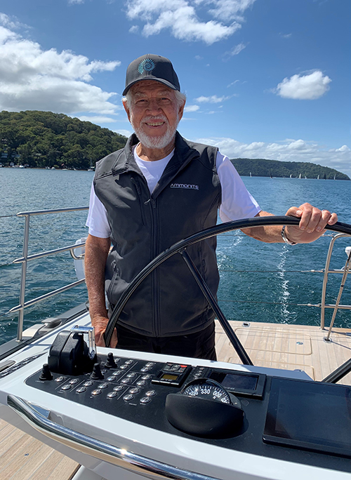 Club Marine Pittwater to Coffs Harbour Yacht Race - Ammonite - Marcus Blackmore. Photo RPAYC Media