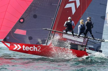 18ft Skiffs Australian Championship, Race 9