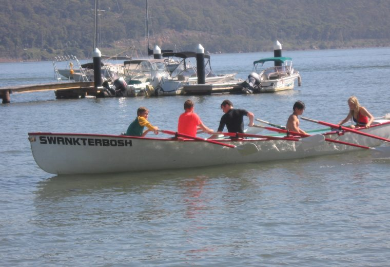 Rowing Surfboat