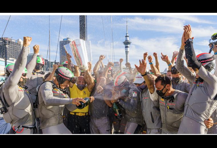 Luna Rossa Prada Pirelli win the Prada Cup