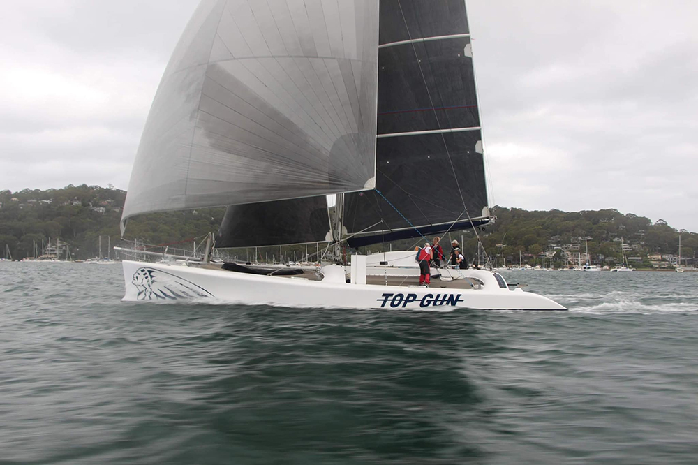 Club Marine Pittwater to Coffs Harbour Yacht Race - Top Gun. Photo Rob McClelland