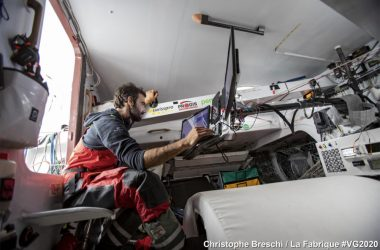 Vendee Globe: France v Switzerland match race for 17th place