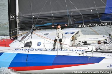 Clarisse Cremer 12th in the Vendée Globe, as first female breaks solo nonstop monohull round the world record