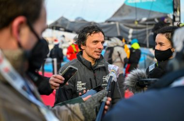 Catalan fire-fighter Didac Costa, 20th in the Vendée Globe