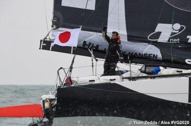 Kojiro Shiraishi takes 16th in Vendee Globe