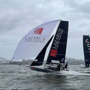 18 Footers on Sydney Harbour (photo by Jessica Crisp)