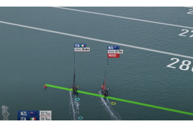 36th America's Cup Day 1 Race Day Round Up