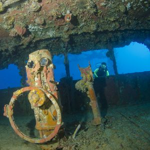 During numerous dives of Truk lagoon videographer Max Gleeson has recorded many of the wrecks