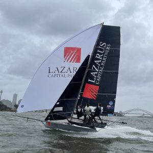 Lazarus Capital Partners with Adele Phillips on board (photo by Jessica Crisp)