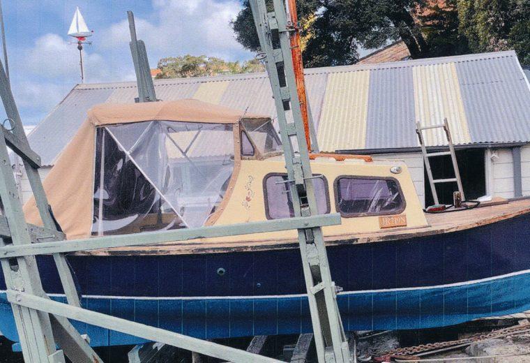 5.6m Half Cabin Motorboat