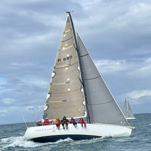 Alien on the way to winning the West Offshore Products Coastal Sprint Race 3 - Geoff Onions pic - ORCV