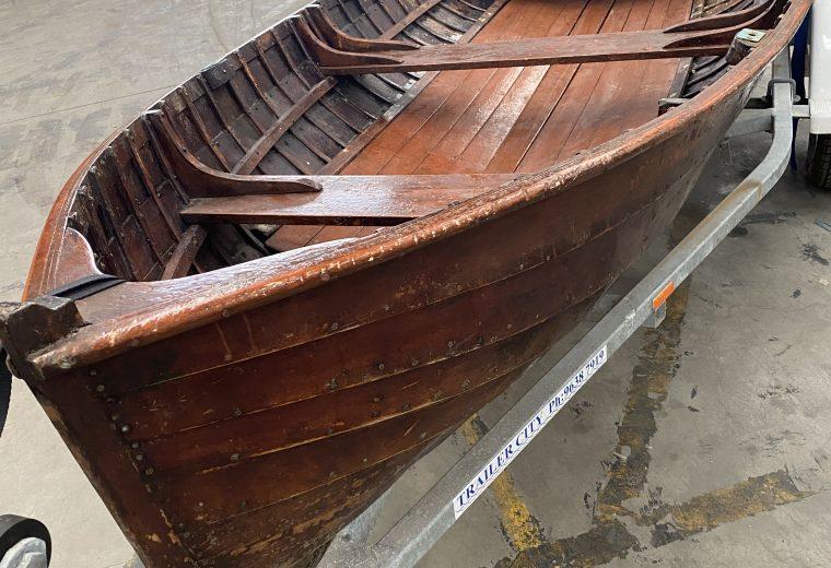 Vintage Row Boat