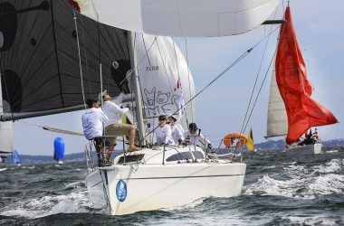 The islands have it as Sail Port Stephens fleet heads offshore