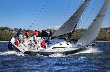 Stronger breeze blows results wide open at Sail Port Stephens