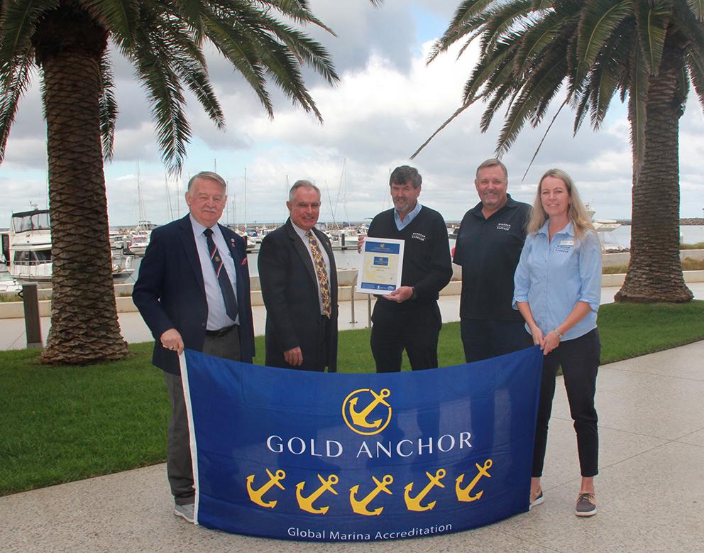 Wyndham Harbour 5 Gold Anchor Presentation