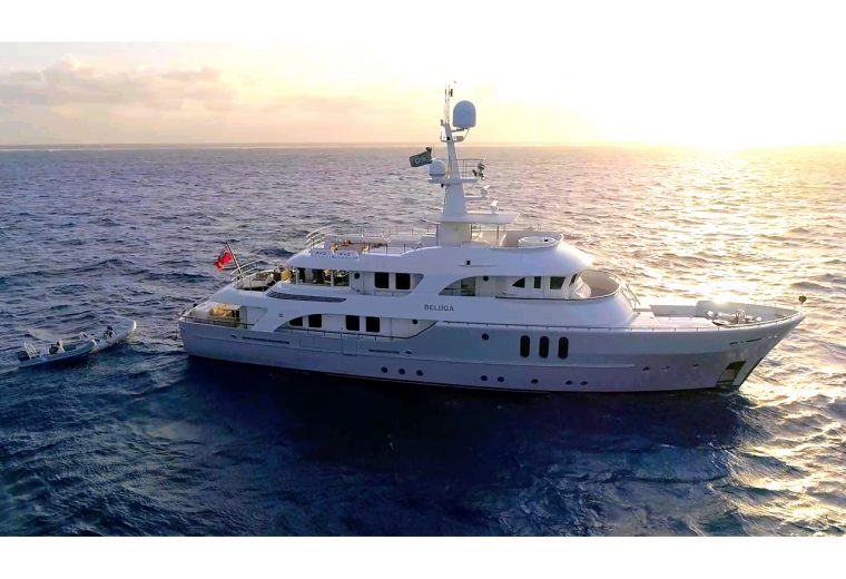 BELUGA crowned Yacht of the Year in the Ocean Awards
