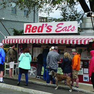 : Red's Eats at Wiscassets serves one of the best lobster rolls in Maine