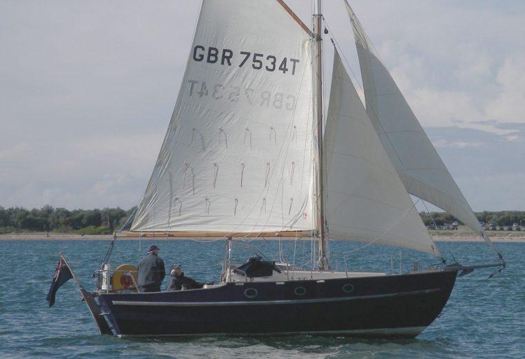 Yarmouth 23ft gaff-rig Cutter
