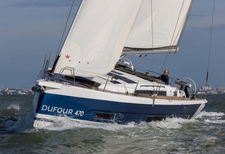 Asia Pacific launch of Dufour 470 at Sanctuary Cove Boat Show