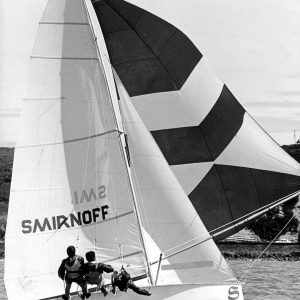 In 1972, Smirnoff was the first Bruce Farr design to win the World Championship