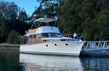 Timber boat for sale