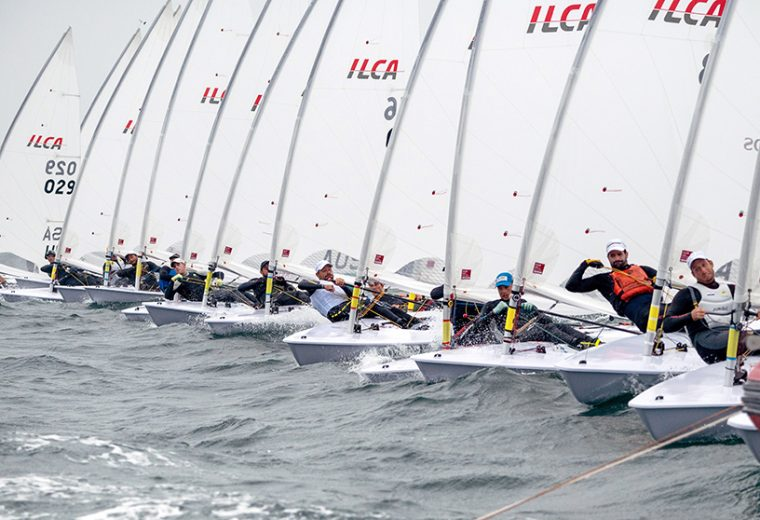 ILCA Laser dinghies to celebrate 50th anniversary in a spectacle on Sydney Harbour