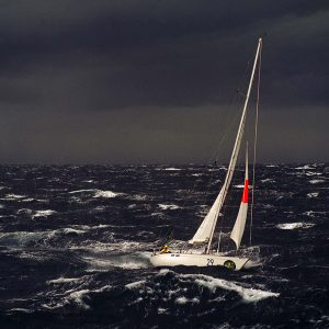 LOVE AND WAR 2004. I found her in Bass Strait on a stormy morning. Owned by the Kurts family, Love and War has won the Sydney-Hobart three times in 1974, 1978 and 2006